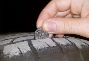 vérifier usure pneu